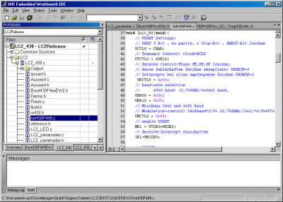 Embedded Workbench IDE